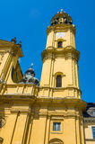 Theatinerkirche church in Munich, Germany Royalty Free Stock Photos