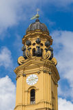 Theatinerkirche. Fragment Royalty Free Stock Images