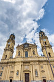 The Theatinerkirche St. Kajetan in Munich, Germany Royalty Free Stock Photos