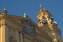 theatinerkirche theatine церков Стоковая Фотография RF