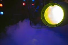 Theatraal licht Stock Afbeelding
