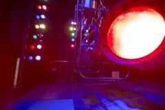 Theatraal licht Stock Foto