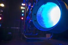 Theatraal licht Stock Foto's
