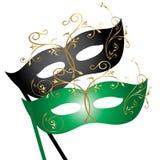 Theatraal Masker Stock Foto