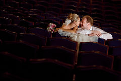 In the theatre Royalty Free Stock Image