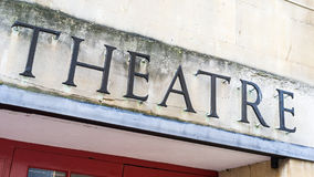 theatre Royaltyfri Fotografi