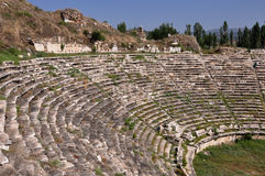 Theatre Afrodisias, Aphrodisias Antyczny miasto,/, Turcja Obraz Stock
