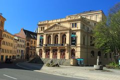 Theatre in Altenburg Royalty Free Stock Photography