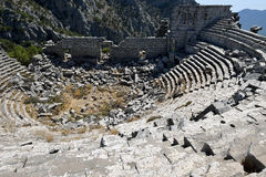 Theatre of the Ancient City of Termessos Stock Photo