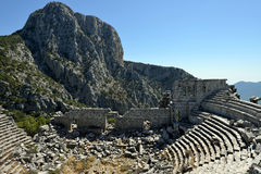 Theatre of the Ancient City of Termessos Stock Image