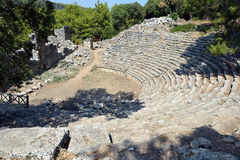 Theatre of the Antique City, Turkey Stock Photos