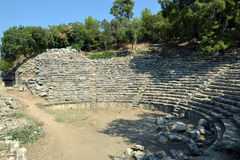 Theatre of the Antique City, Turkey Royalty Free Stock Image
