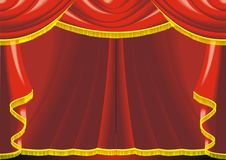 Theatre background Stock Photography