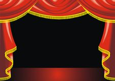 Theatre background Stock Images
