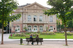 Theatre in Baden-Baden , Germany royalty free stock photography