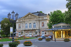 Theatre in Baden-Baden, Germany. Theatre in the centre of Baden-Baden, Baden-Württemberg, Germany Royalty Free Stock Photo