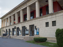 Theatre in Brasov, Romania stock photos