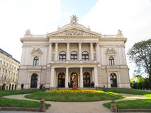 Theatre in Brno Stock Images