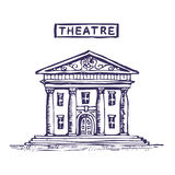 Theatre building Stock Photography