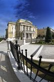 The Theatre Building in Rijeka,Croatia Royalty Free Stock Images