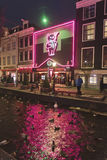 Theatre Cassa Rosso Red Light District Amsterdam.  Stock Images