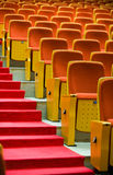 Theatre chairs Stock Photos