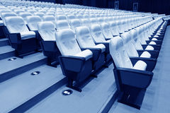 Theatre chairs Royalty Free Stock Photography