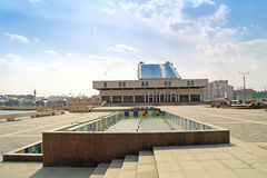Theatre is in city Kazan Royalty Free Stock Images