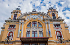 Theatre in Cluj-Napoca Royalty Free Stock Photography