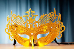 Theatre concept. Masks with the theatre concept Royalty Free Stock Images