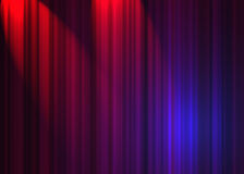 Theatre curtain royalty free illustration