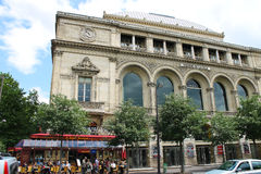 Theatre de la Ville in Paris. Royalty Free Stock Photo