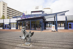 Theatre DE Lampegiet in Veenendaal Royalty-vrije Stock Afbeeldingen