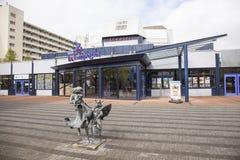 Theatre de Lampegiet in Veenendaal. Theatre de Lampegiet in the dutch town of Veenendaal Royalty Free Stock Images