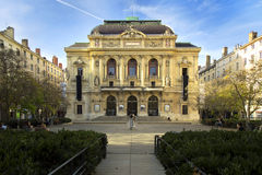 The Theatre des Celestins in Lyon, France Royalty Free Stock Photo