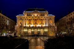 The Theatre des Celestins in Lyon, France Royalty Free Stock Photography