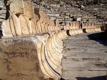 Theatre of Dionysus, Athens Royalty Free Stock Image