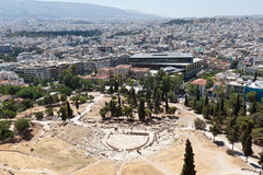 Theatre of Dionysus Athens Greece Stock Image