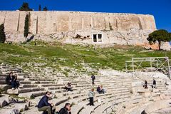 Theatre of Dionysus Athens - partial view