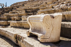 Theatre of Dionysus Eleuthereus Royalty Free Stock Images