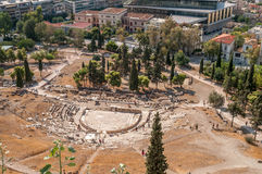 Theatre of Dionysus Eleuthereus, Athens Royalty Free Stock Photography