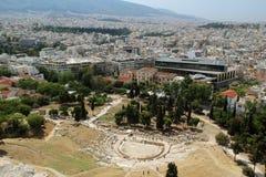 Theatre of Dionysus Eleuthereus, Athens Royalty Free Stock Image