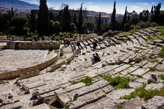 Theatre of Dionysus - side view