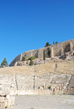 The Theatre of Dionysus Eleuthereus Royalty Free Stock Photo