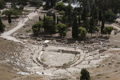 Theatre of Dionysus Royalty Free Stock Images