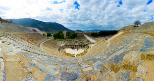 The Theatre of Ephesus Ancient City Royalty Free Stock Images