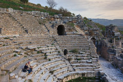 Theatre of Ephesus Turkey Royalty Free Stock Image