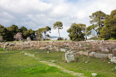 Theatre at Epidaurus Stock Photo