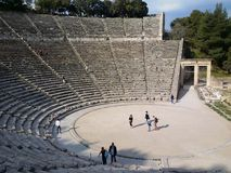Theatre of Epidaurus Stock Photos