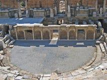 theatre för 2 forntida grekisk hierapolis Arkivfoton